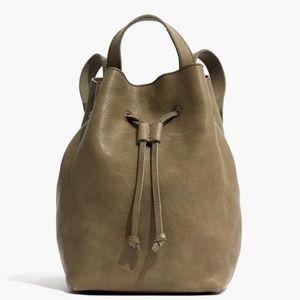 Madewell Leather Mini Somerset Backpack